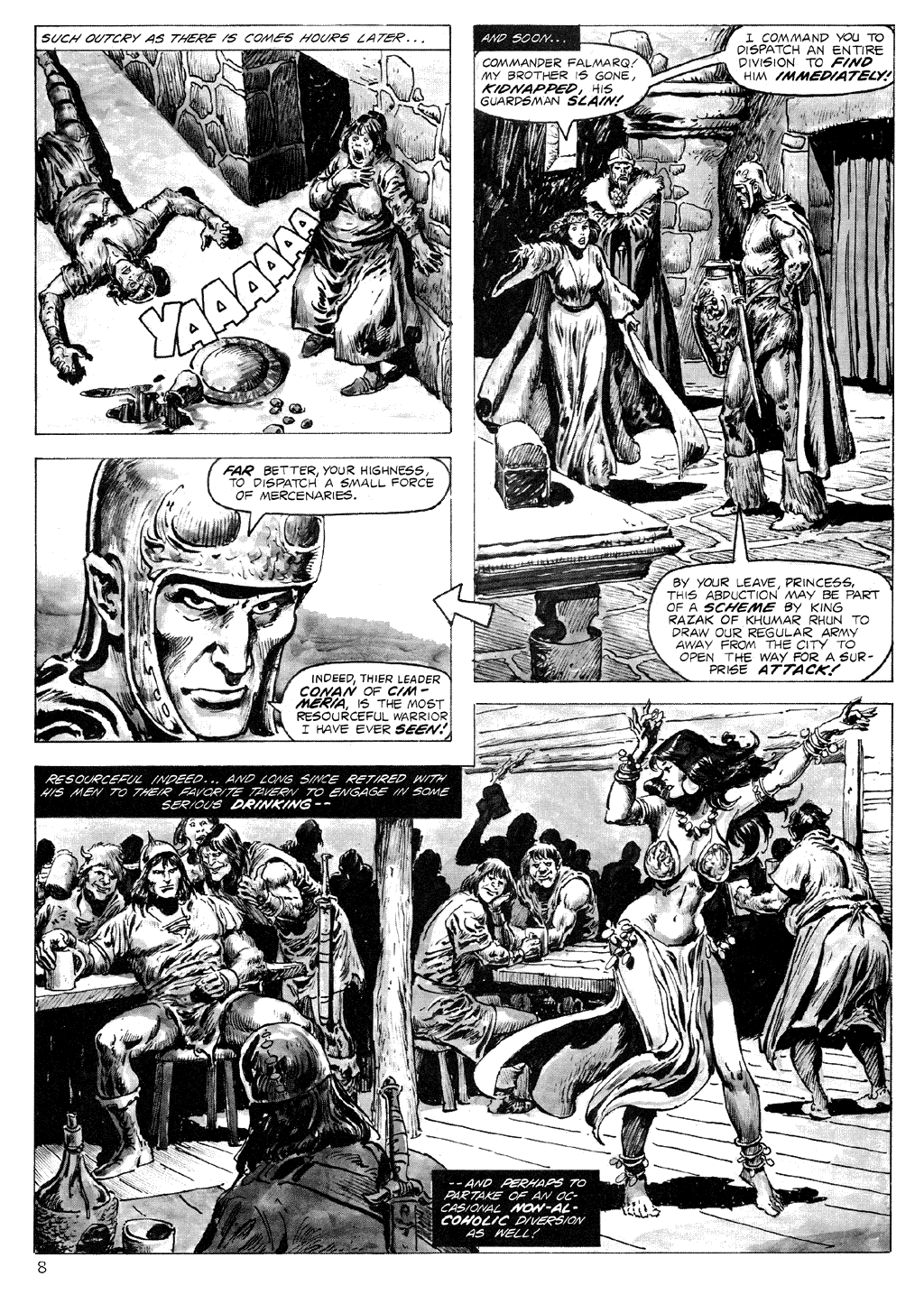 The Savage Sword Of Conan Issue #71 #72 - English 8
