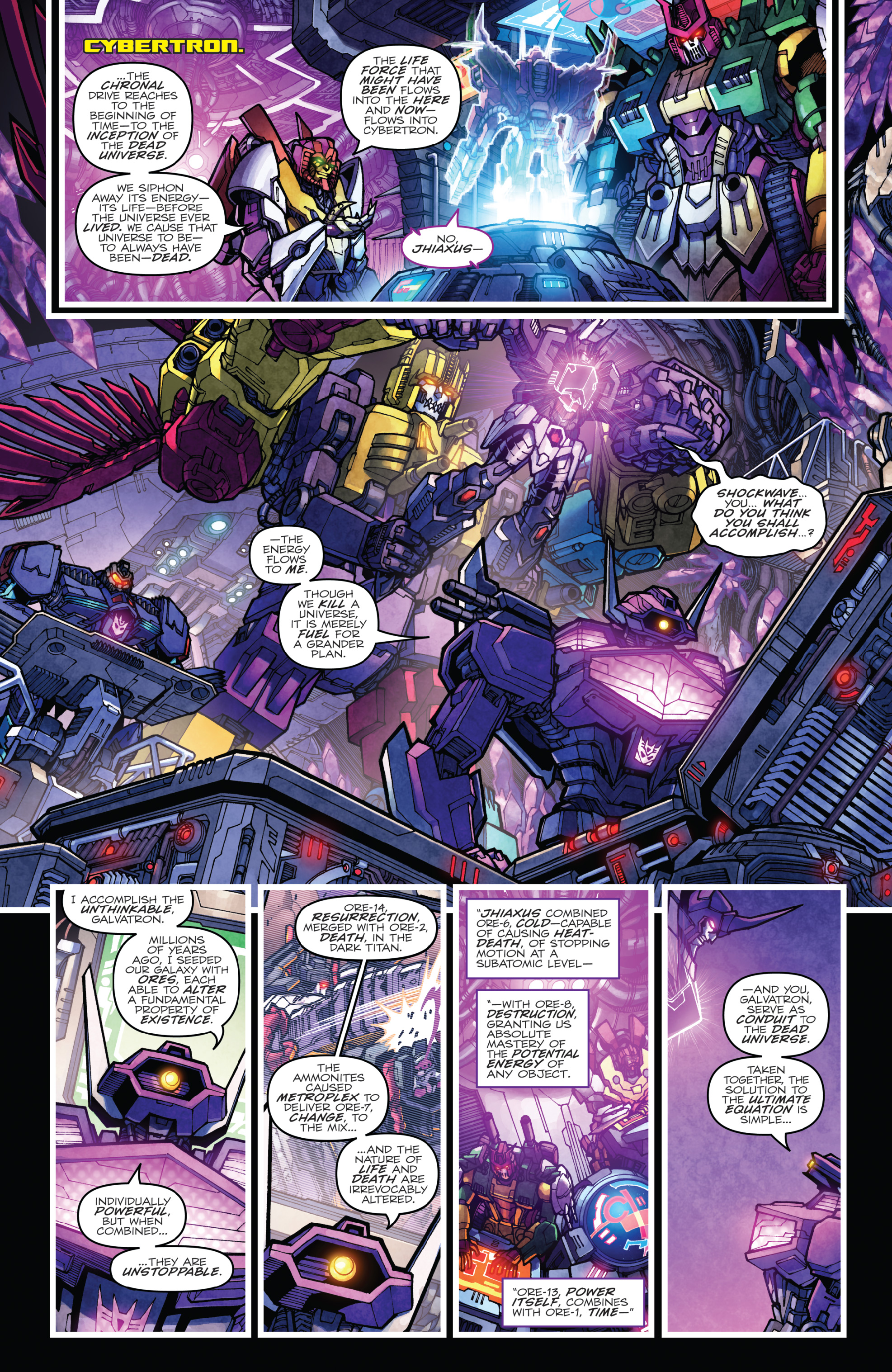 Read online The Transformers: Dark Cybertron Finale comic -  Issue # Full - 80