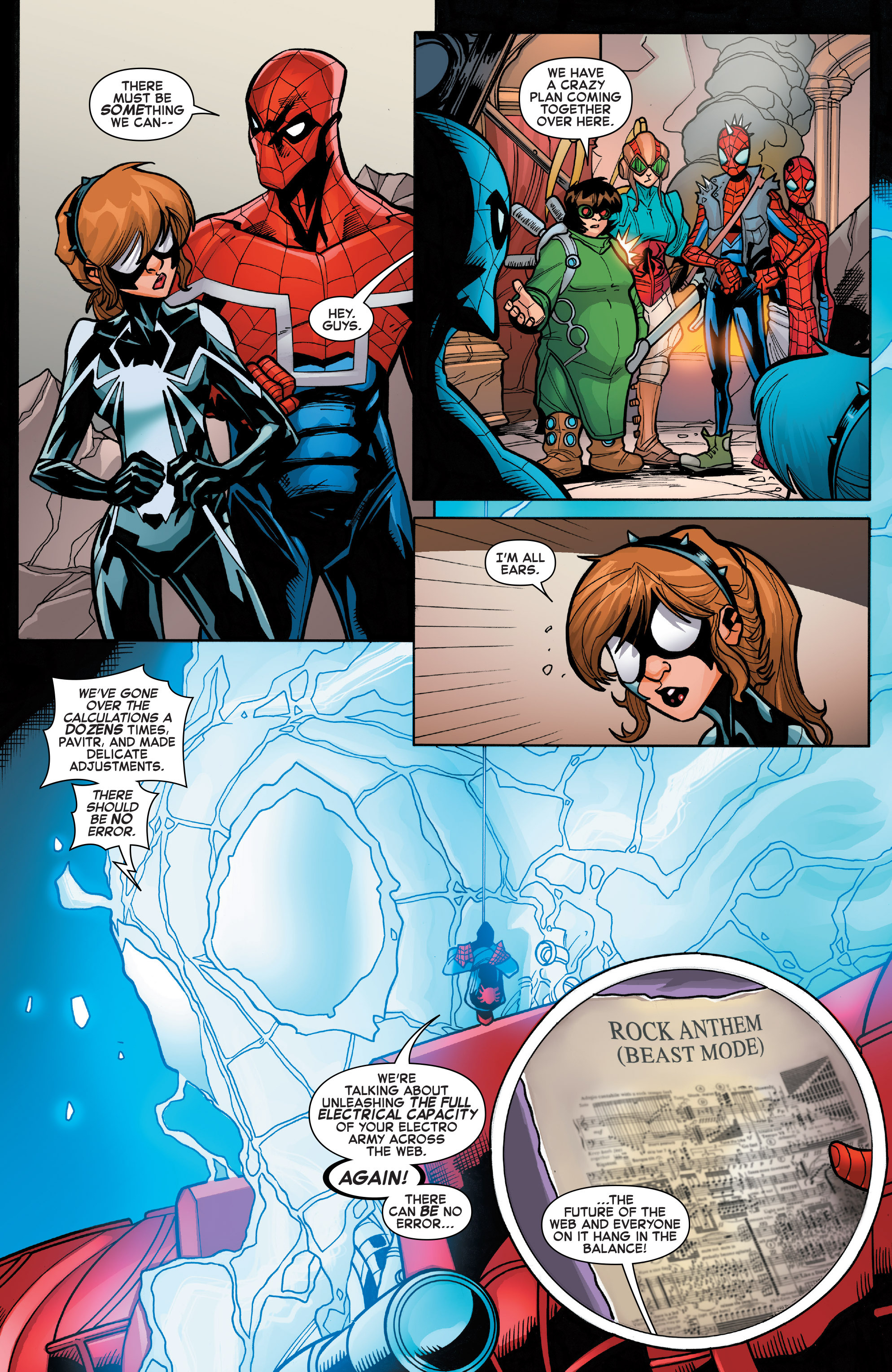 Read online Web Warriors comic -  Issue #11 - 15
