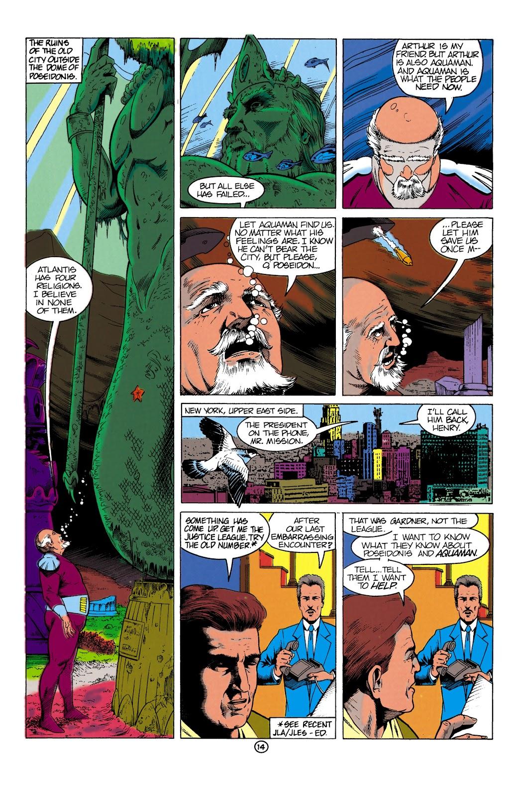 Aquaman (1991) Issue #1 #1 - English 14