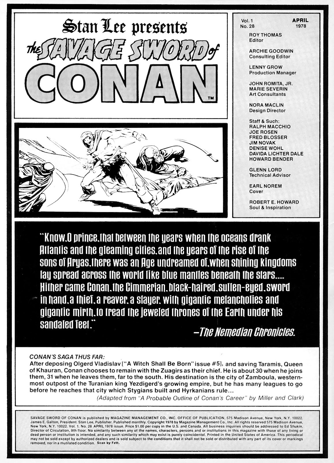 The Savage Sword Of Conan Issue #28 #29 - English 2