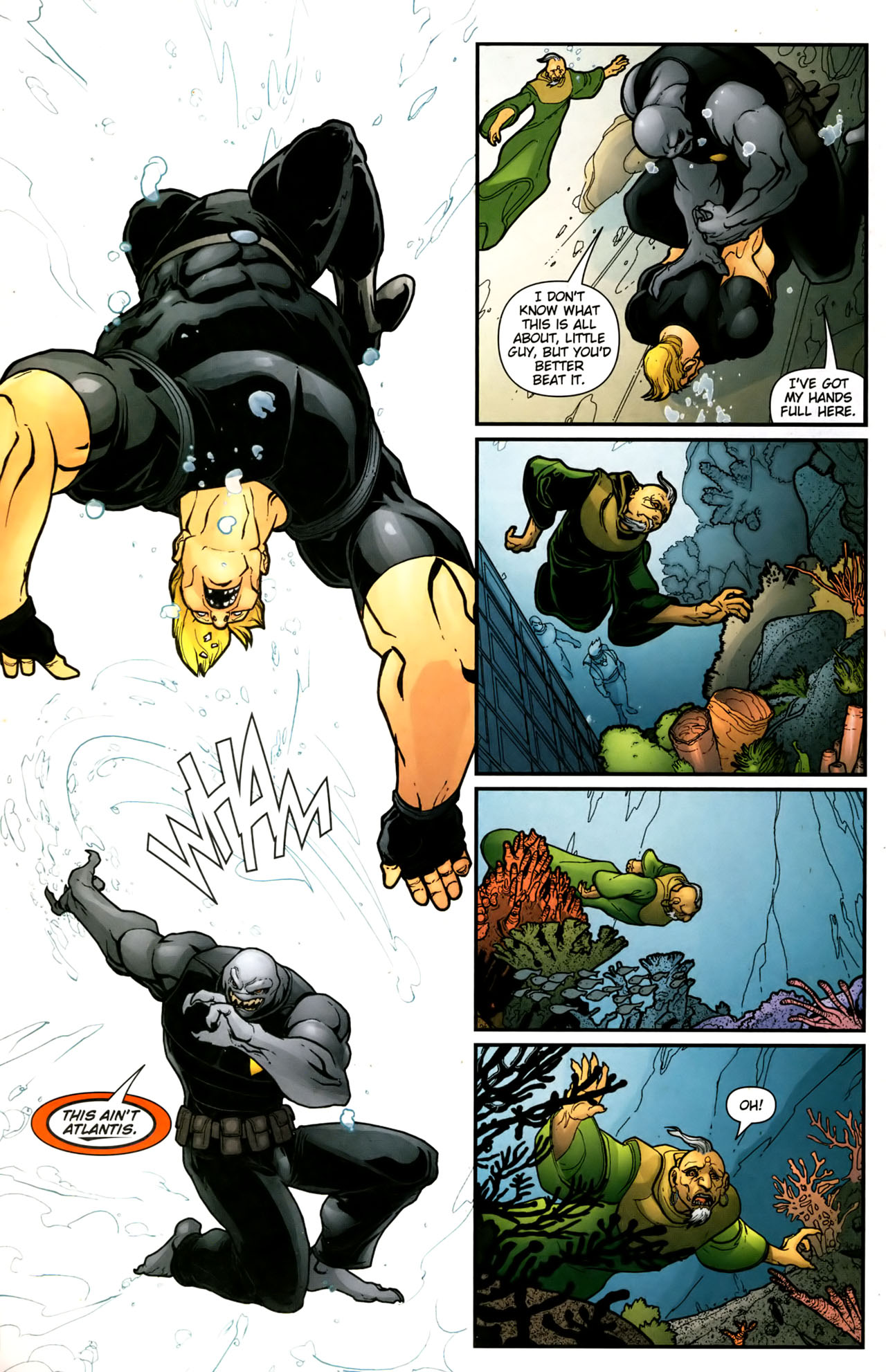 Read online Aquaman (2003) comic -  Issue #39 - 5