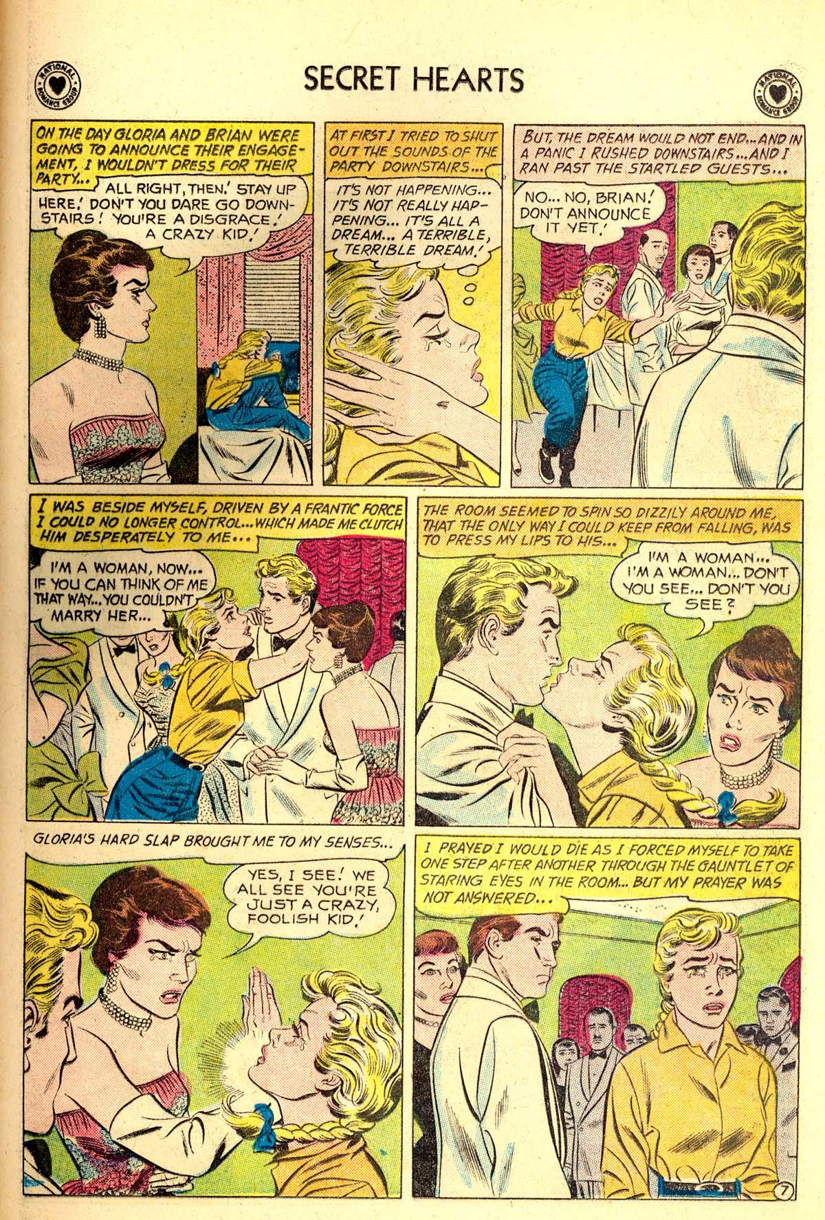 Read online Secret Hearts comic -  Issue #64 - 33