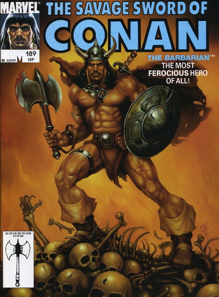 The Savage Sword Of Conan Issue #189 #190 - English 1