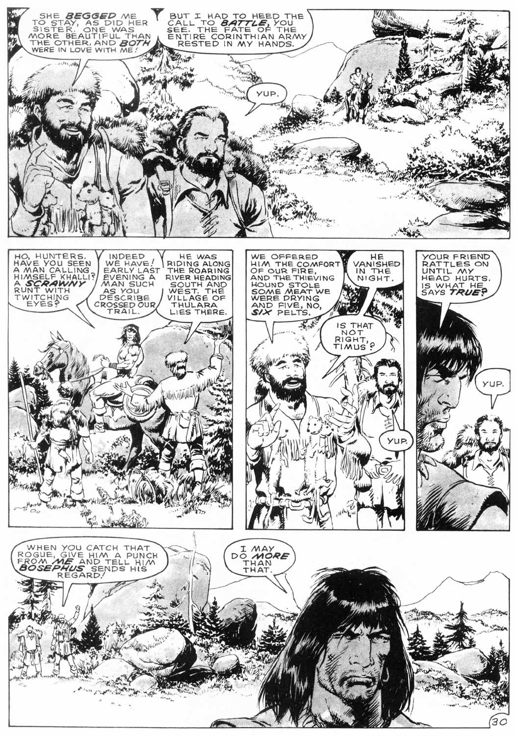 The Savage Sword Of Conan Issue #154 #155 - English 32