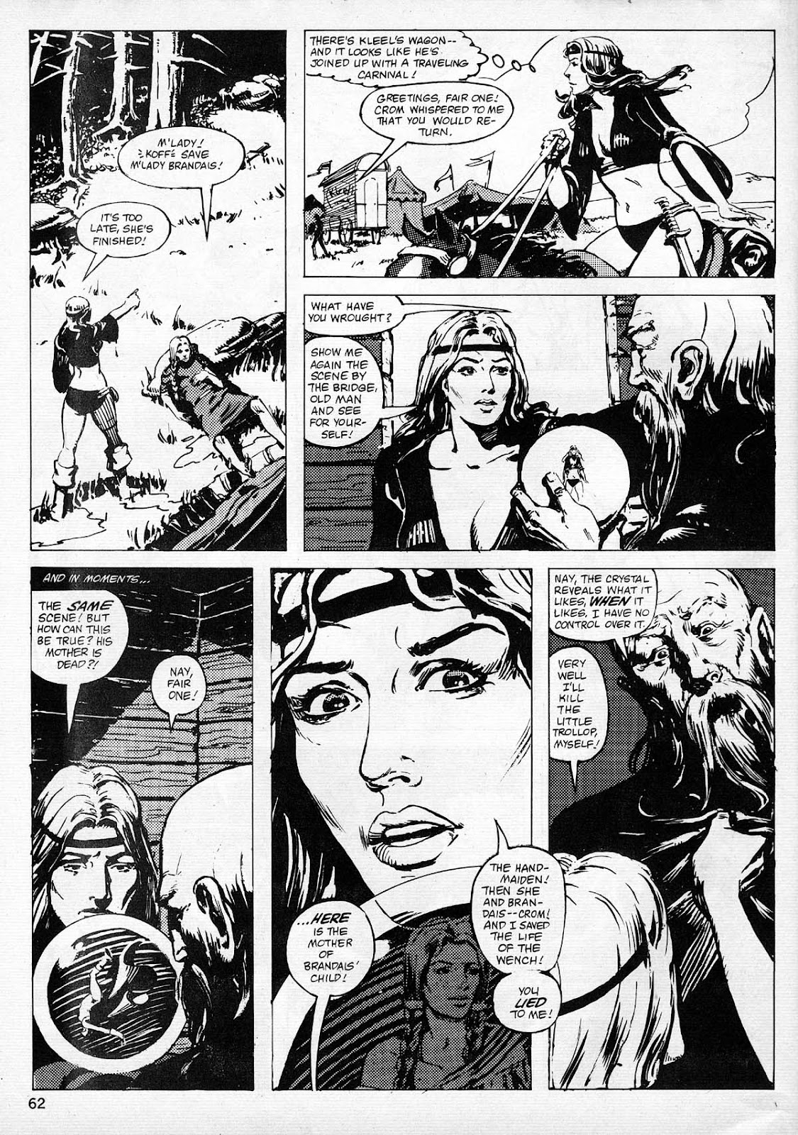 The Savage Sword Of Conan Issue #77 #78 - English 59