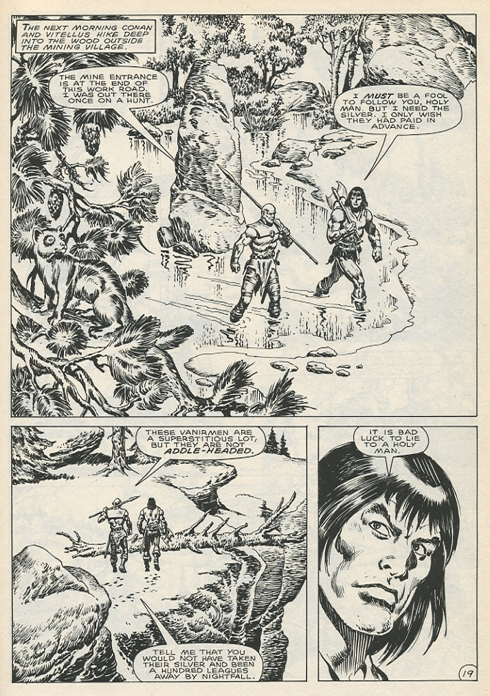 The Savage Sword Of Conan Issue #141 #142 - English 25