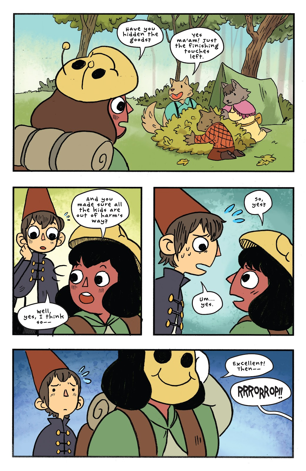 Over the Garden Wall (2016) Issue #11 #11 - English 17
