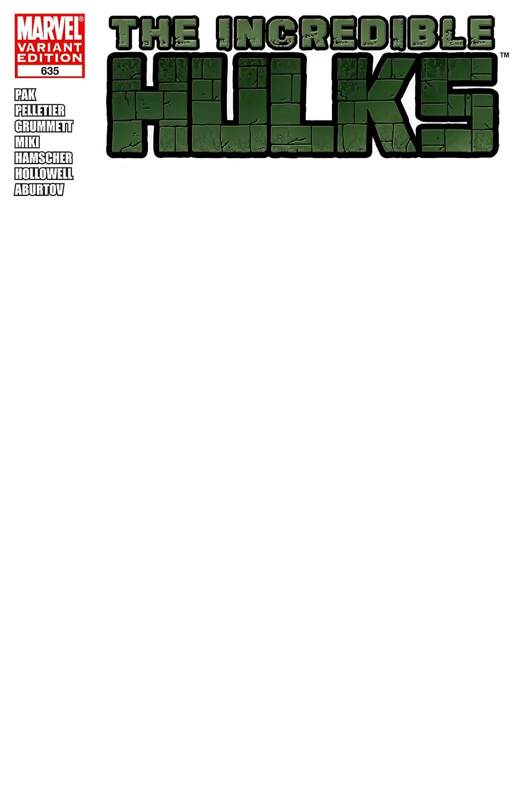 Incredible Hulks (2010) Issue #635 #25 - English 4