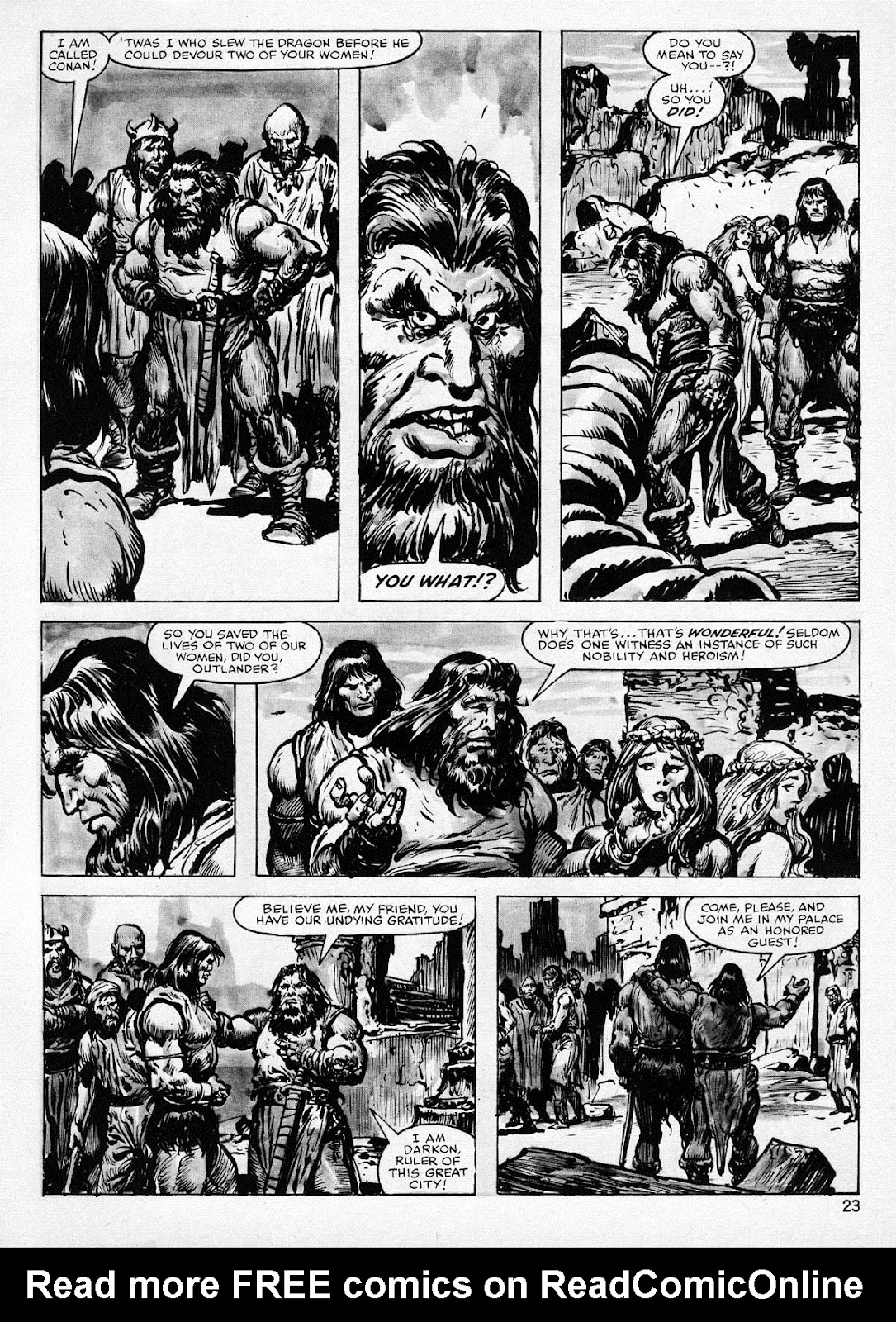 The Savage Sword Of Conan Issue #77 #78 - English 23