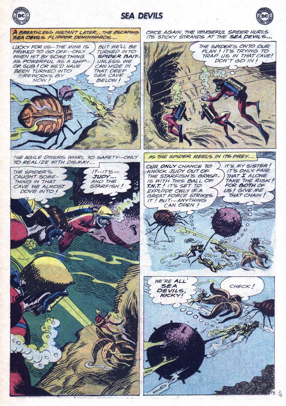 Read online Sea Devils comic -  Issue #15 - 30