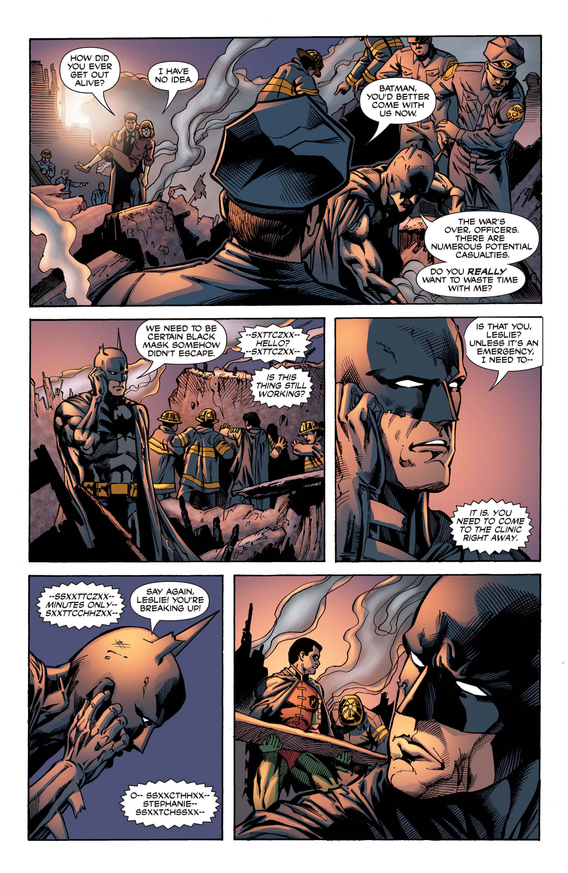Read online Batman: War Games comic -  Issue #8 - 22
