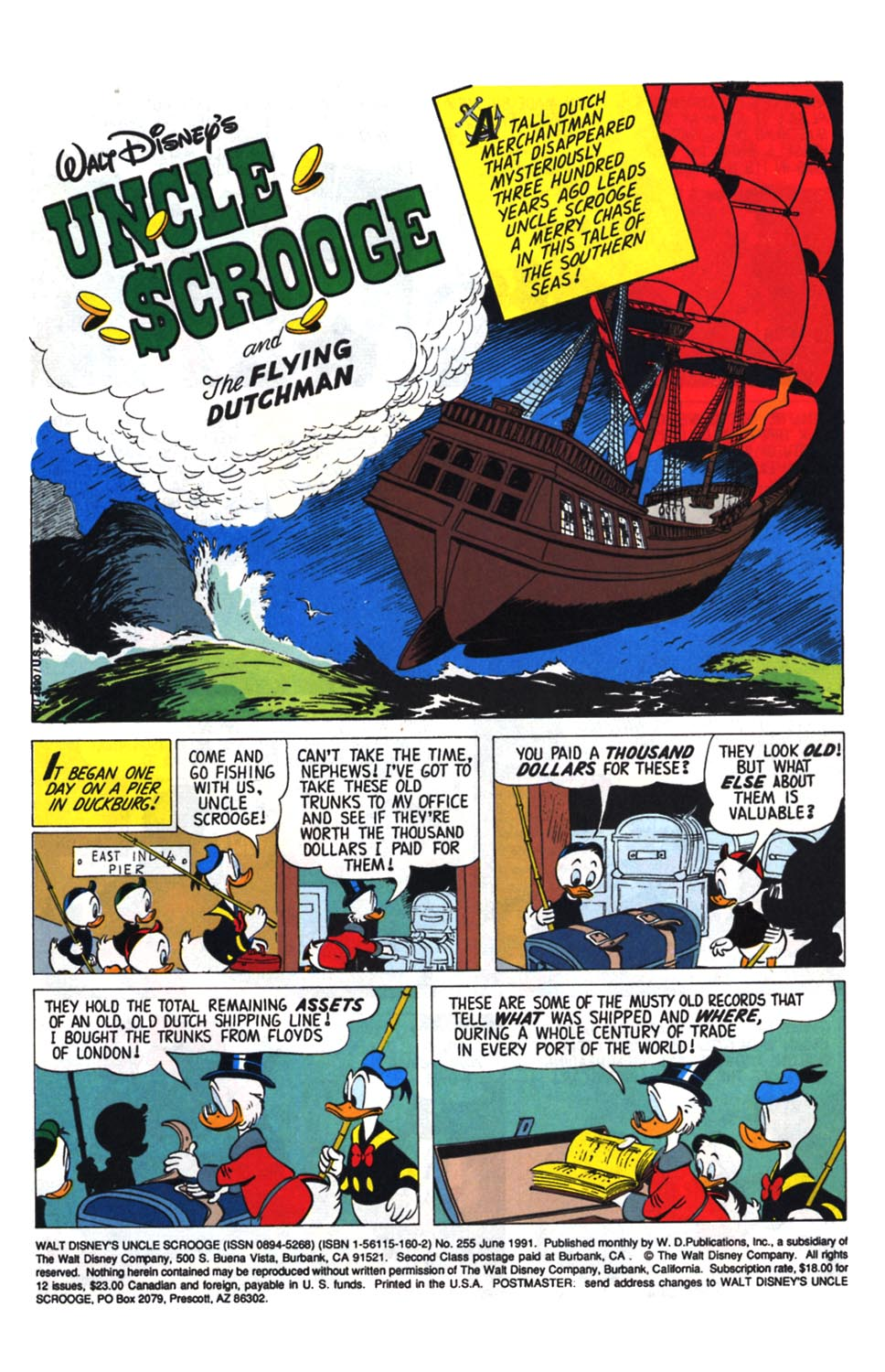 Uncle Scrooge (1953) Issue #255 #255 - English 2