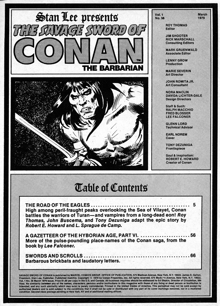 The Savage Sword Of Conan Issue #38 #39 - English 3