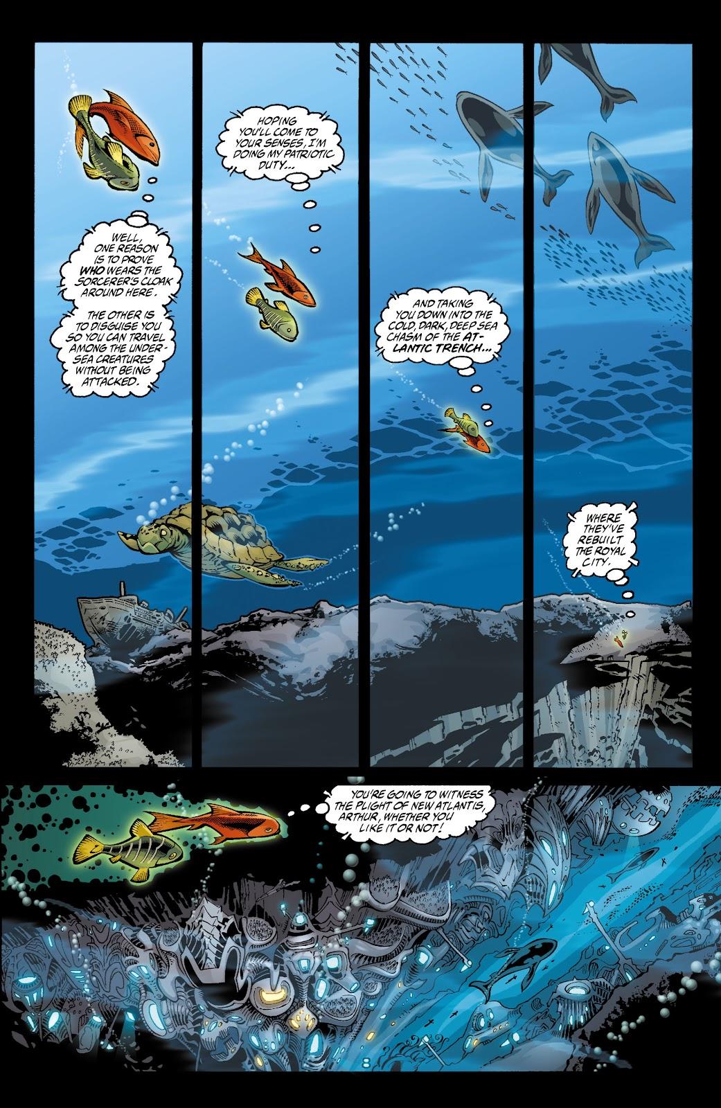 Aquaman (2003) Issue #4 #4 - English 9