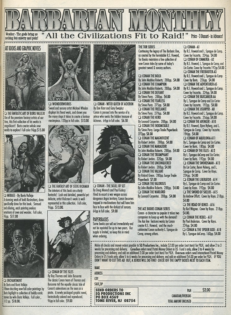 The Savage Sword Of Conan Issue #175 #176 - English 55