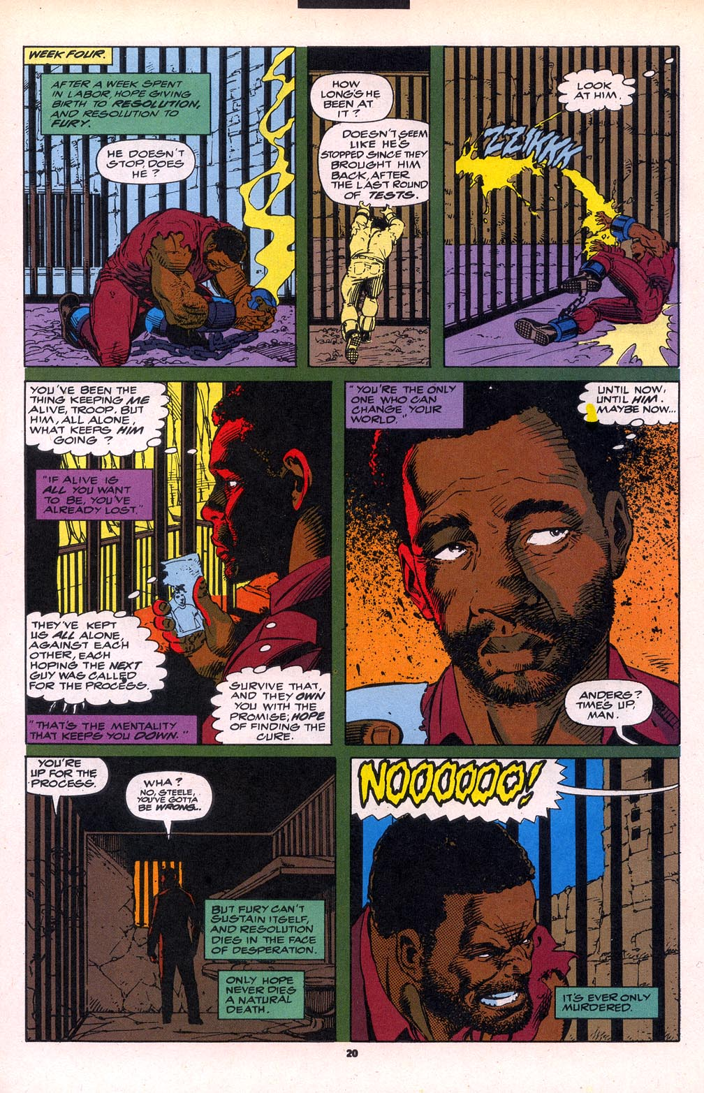 Cage (1992) 6 Page 15