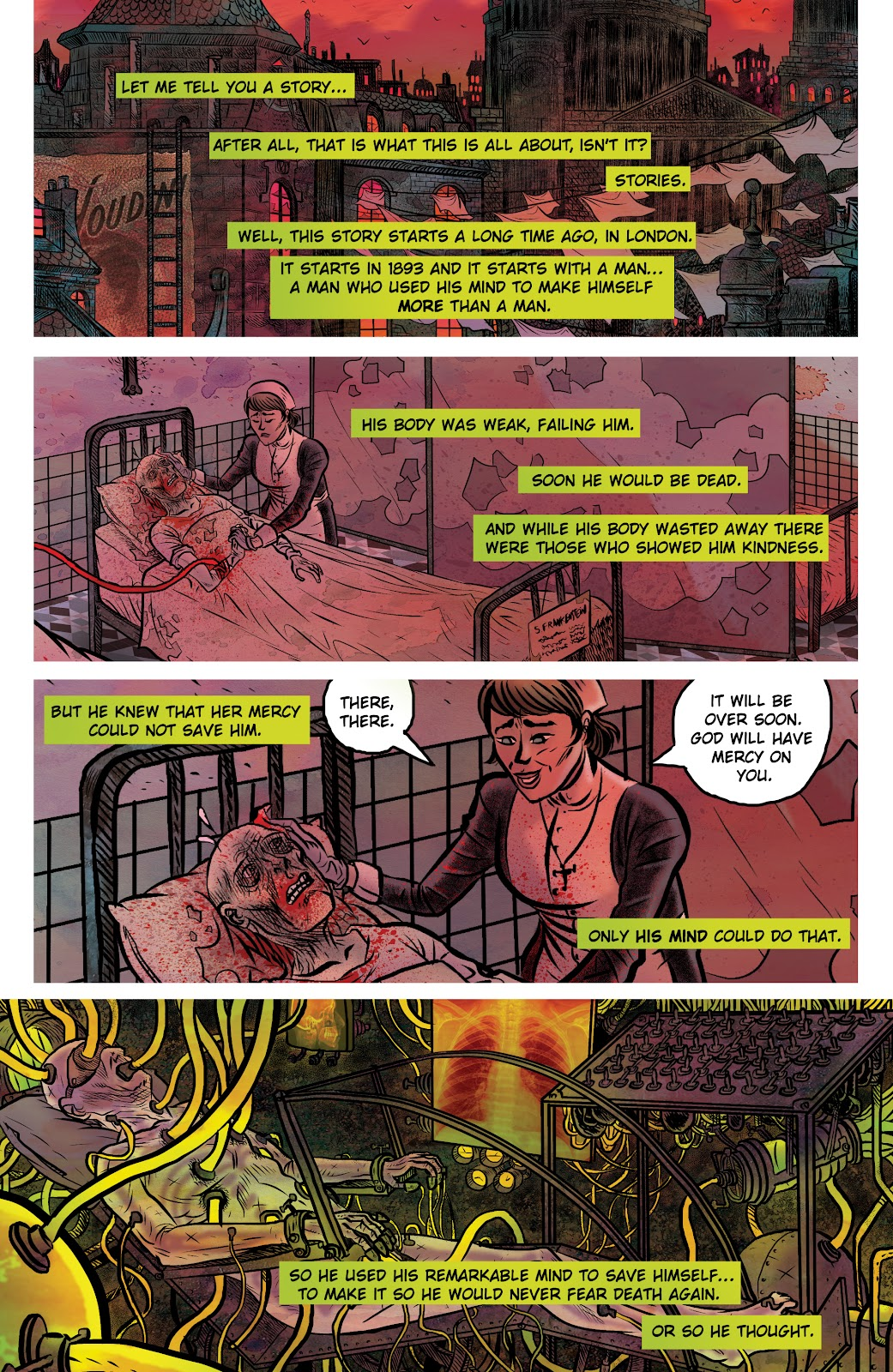 Read online Sherlock Frankenstein and the Legion of Evil comic -  Issue #4 - 3
