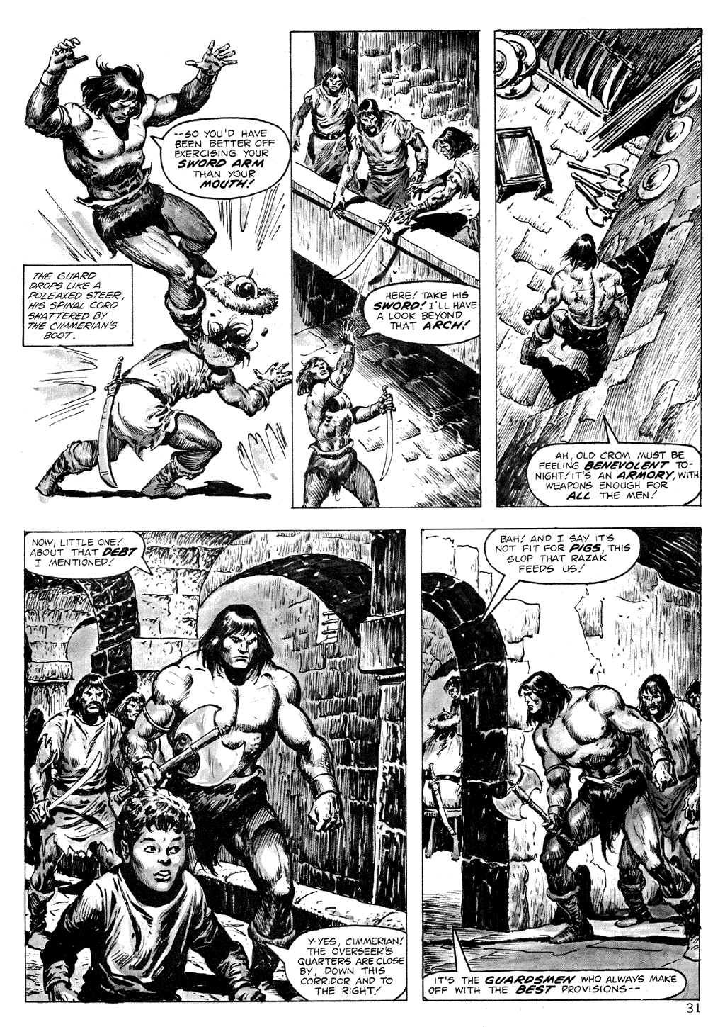 The Savage Sword Of Conan Issue #71 #72 - English 31