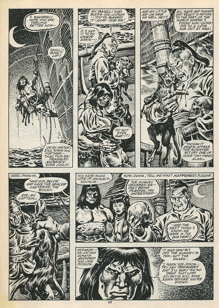 The Savage Sword Of Conan Issue #192 #193 - English 19