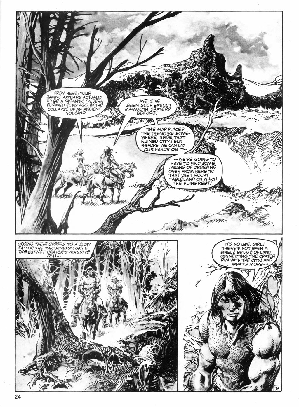 The Savage Sword Of Conan Issue #98 #99 - English 24