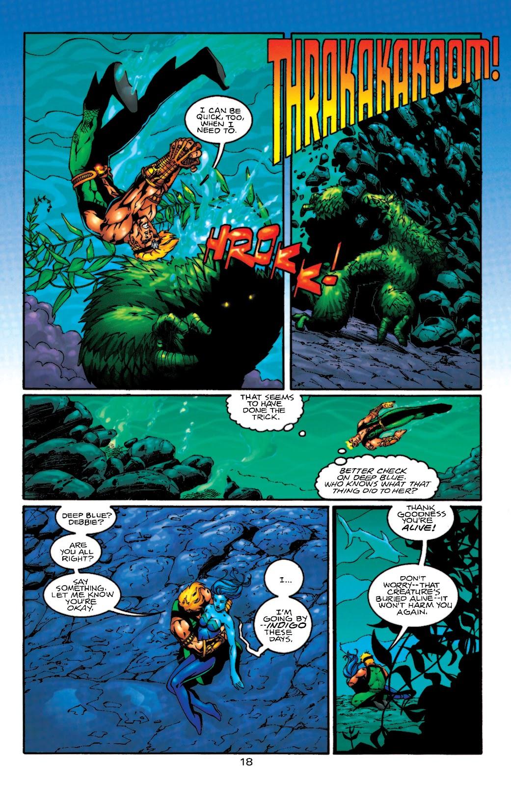 Aquaman (1994) Issue #55 #61 - English 19