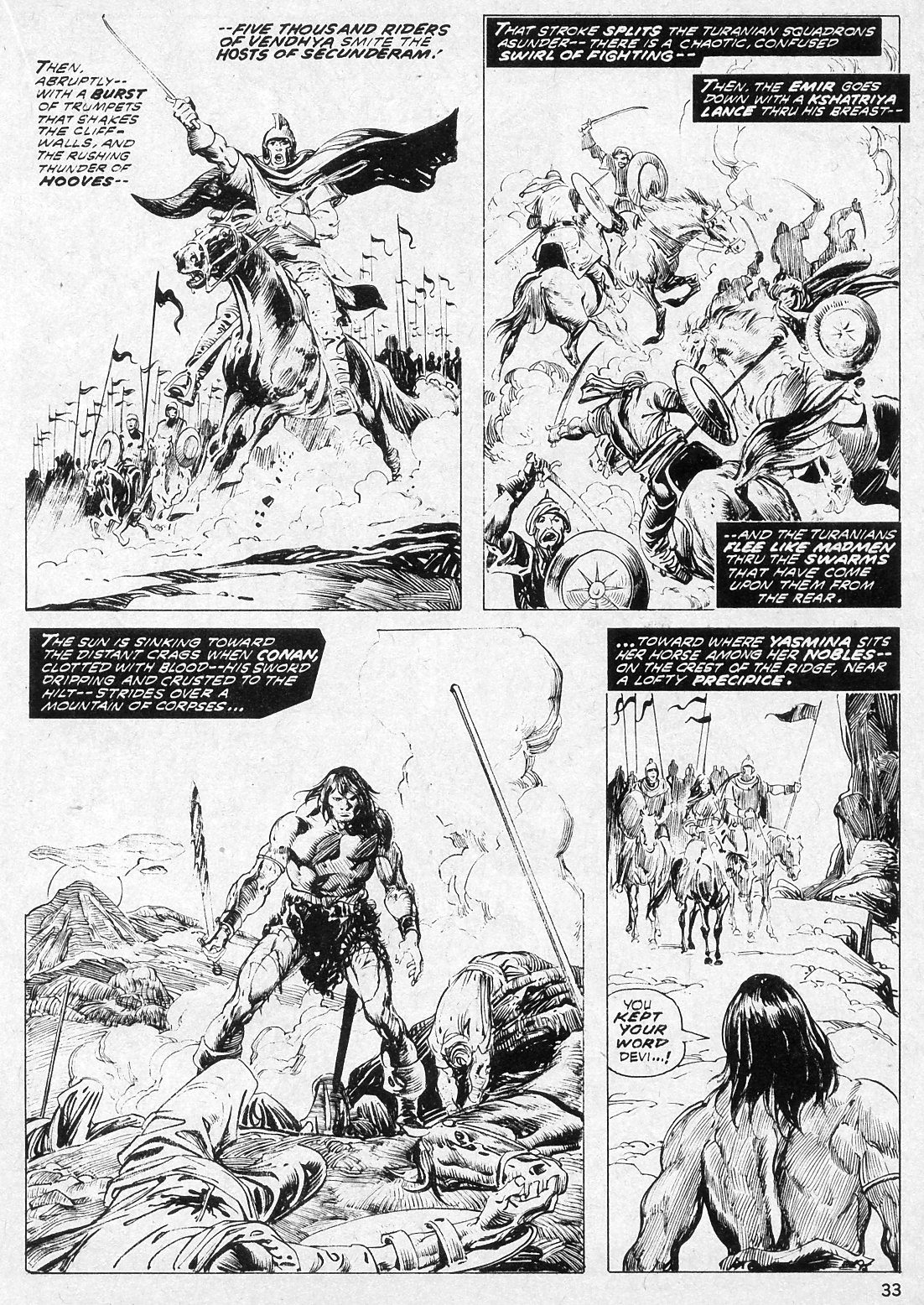 The Savage Sword Of Conan Issue #19 #20 - English 33