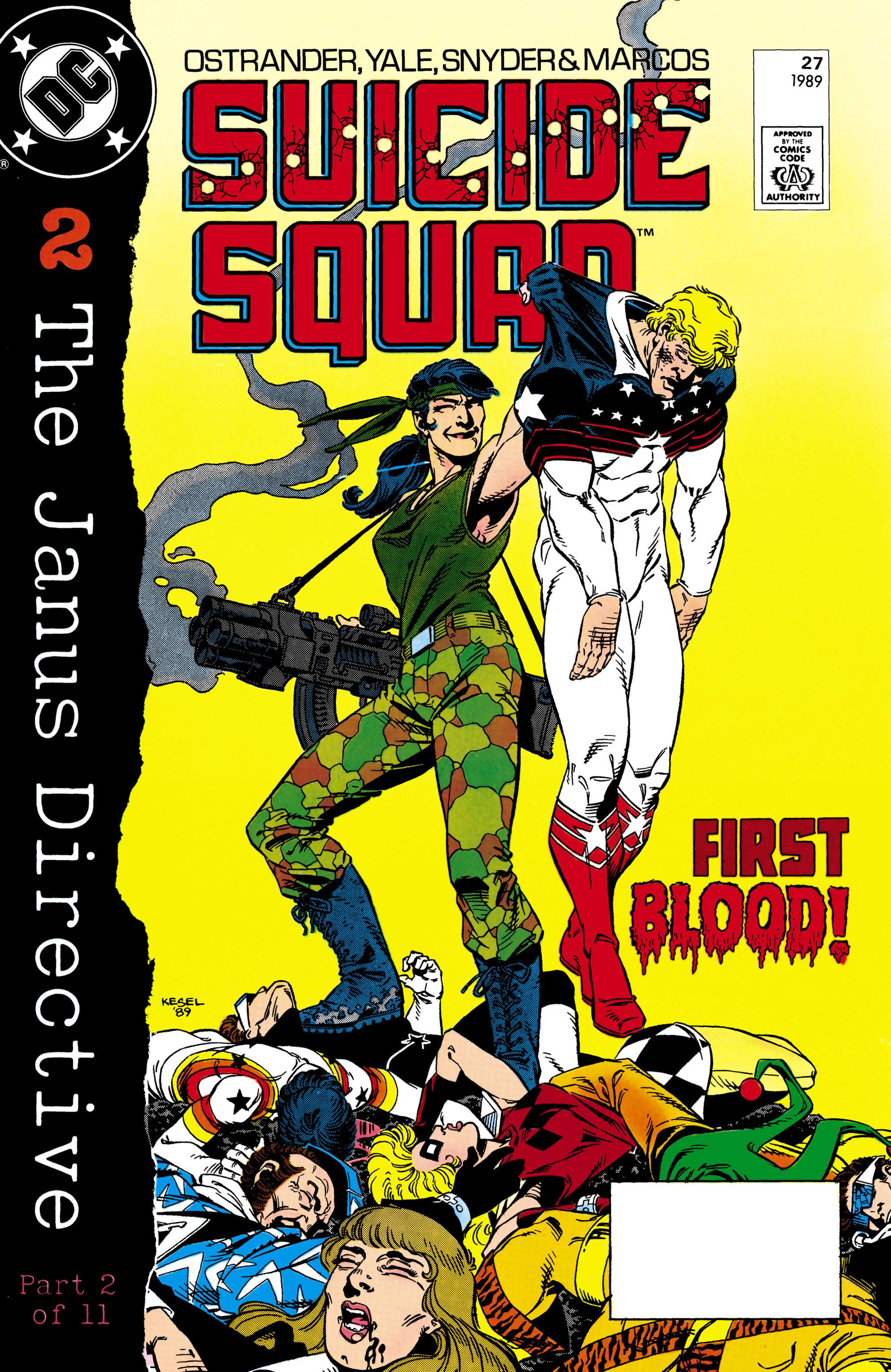 Suicide Squad (1987) 27 Page 1