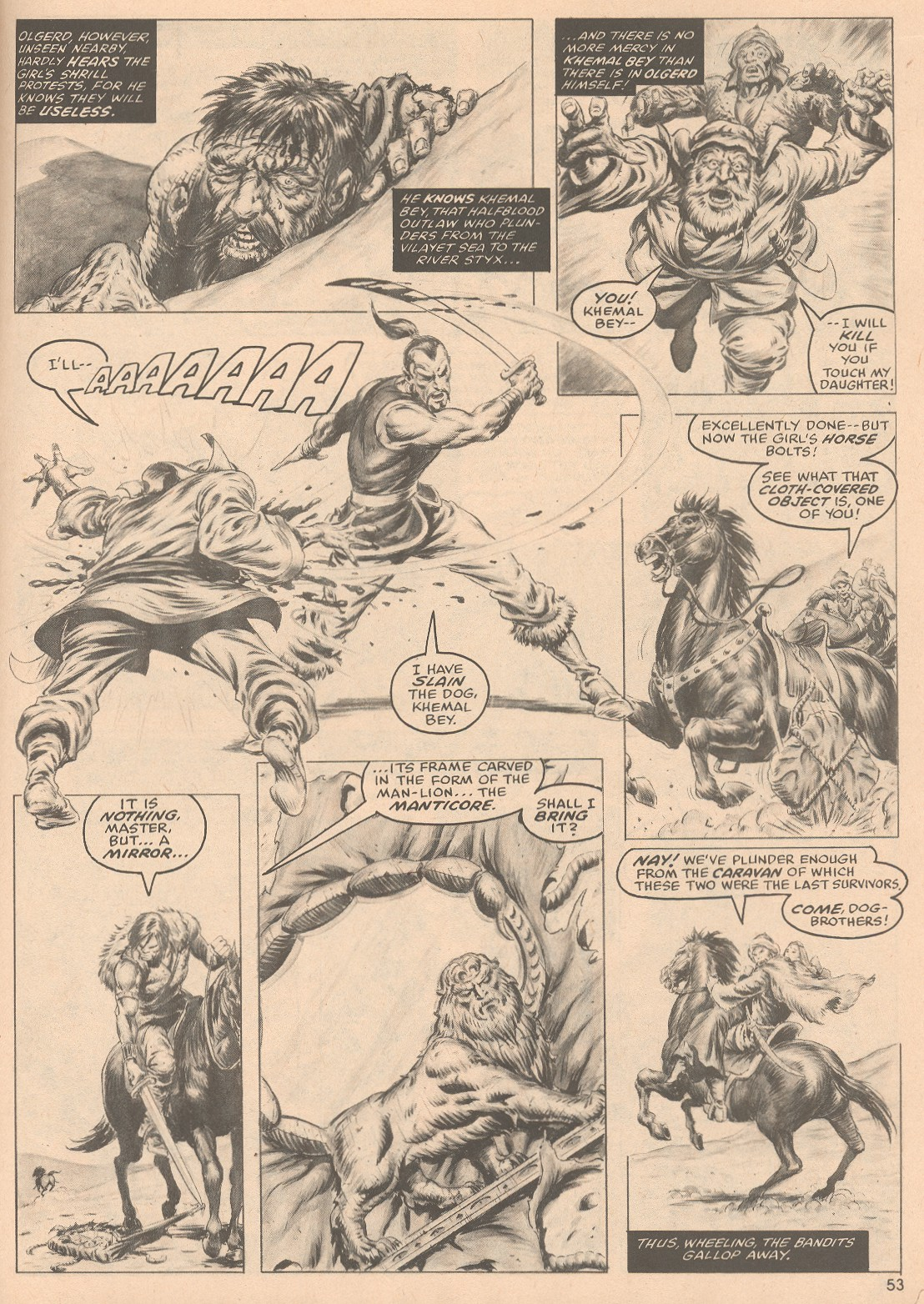 The Savage Sword Of Conan Issue #58 #59 - English 54