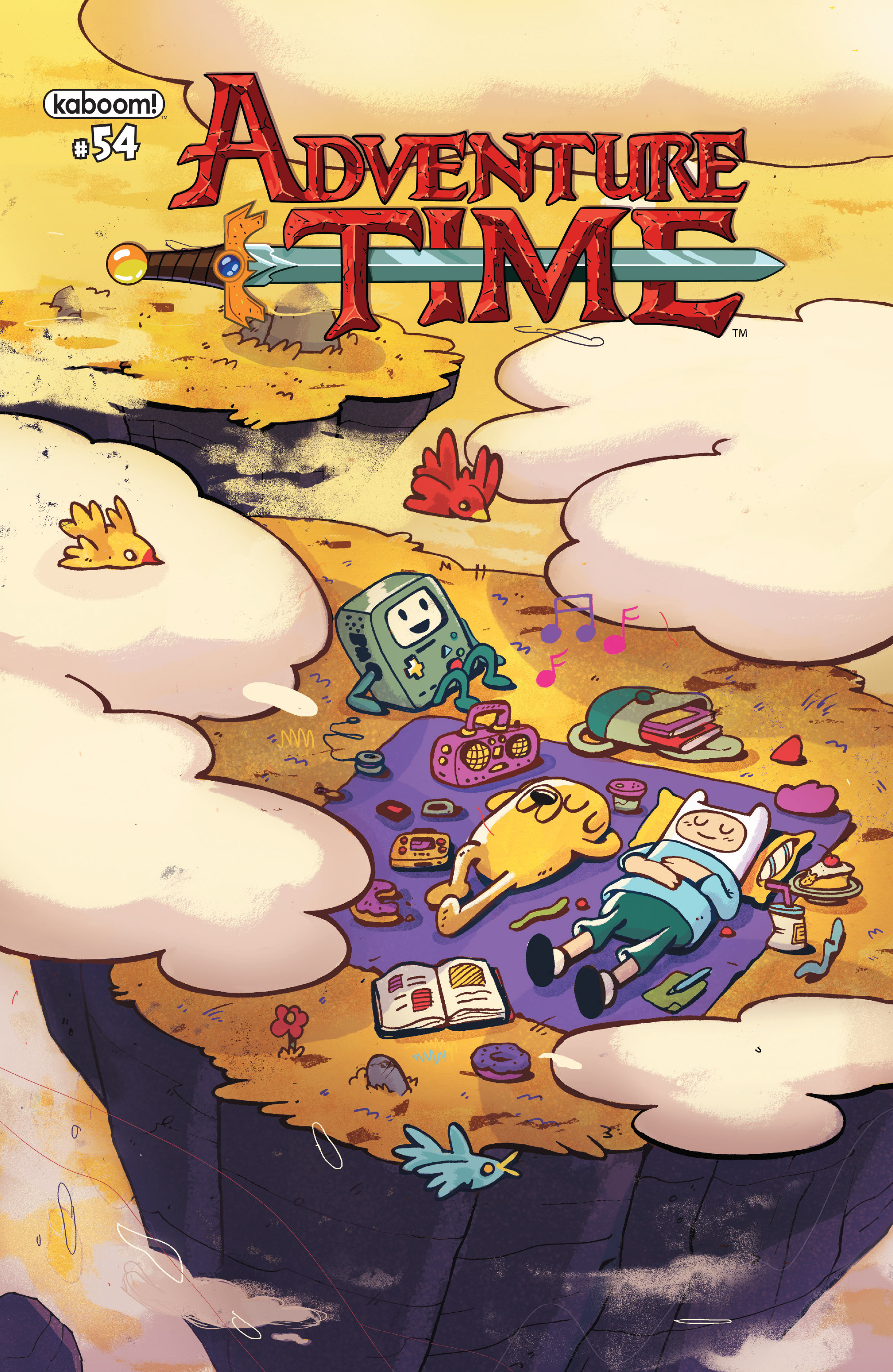 Adventure Time 54 Page 1