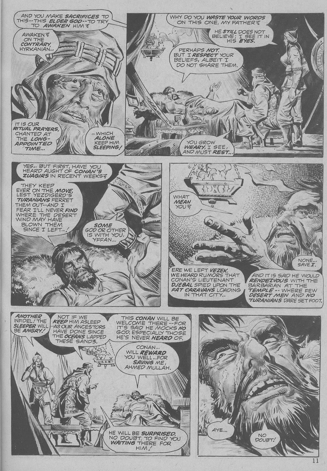 The Savage Sword Of Conan Issue #6 #7 - English 11