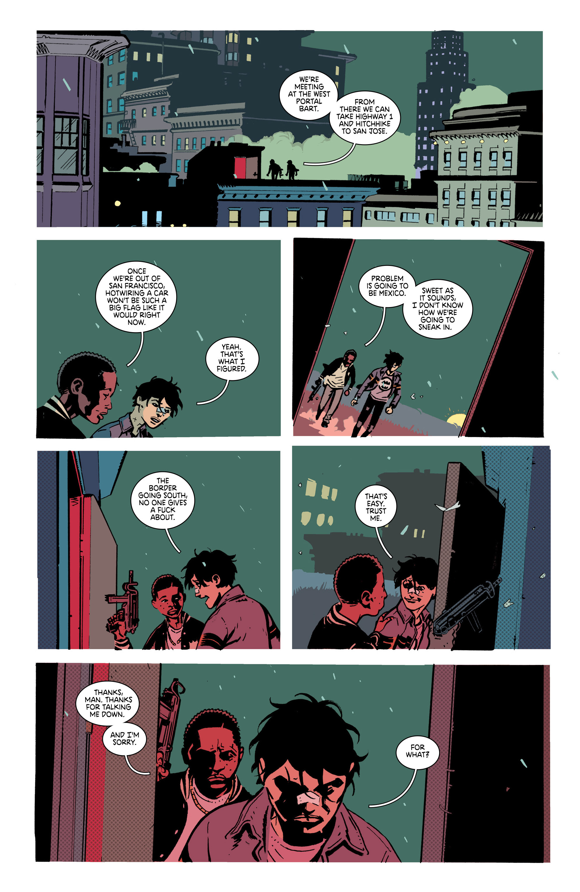 Read online Deadly Class comic -  Issue #21 - 23