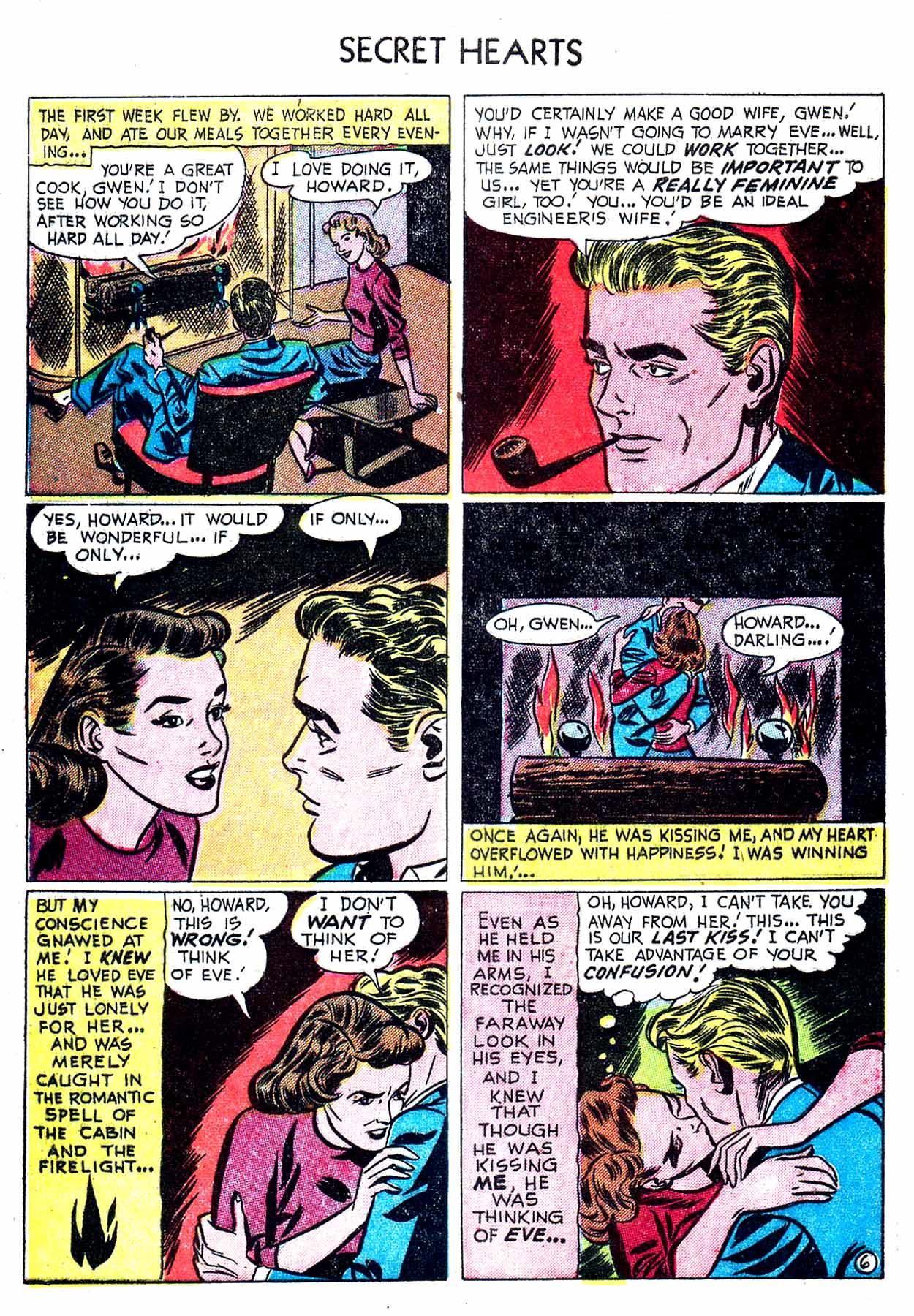 Read online Secret Hearts comic -  Issue #8 - 32