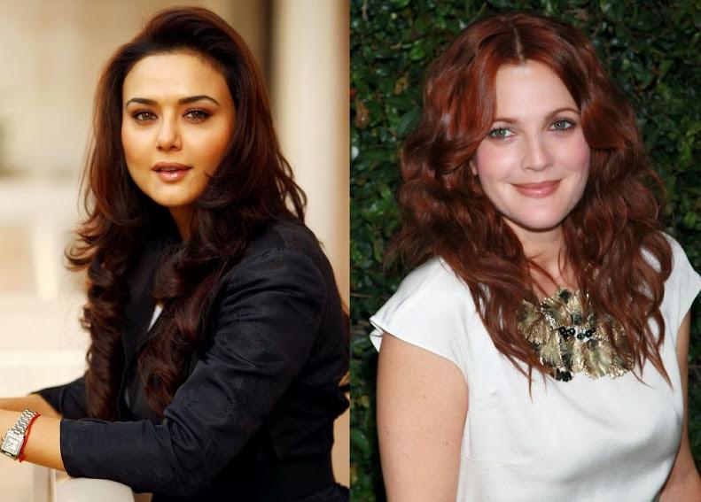 Preity Zinta And Drew Barrymore