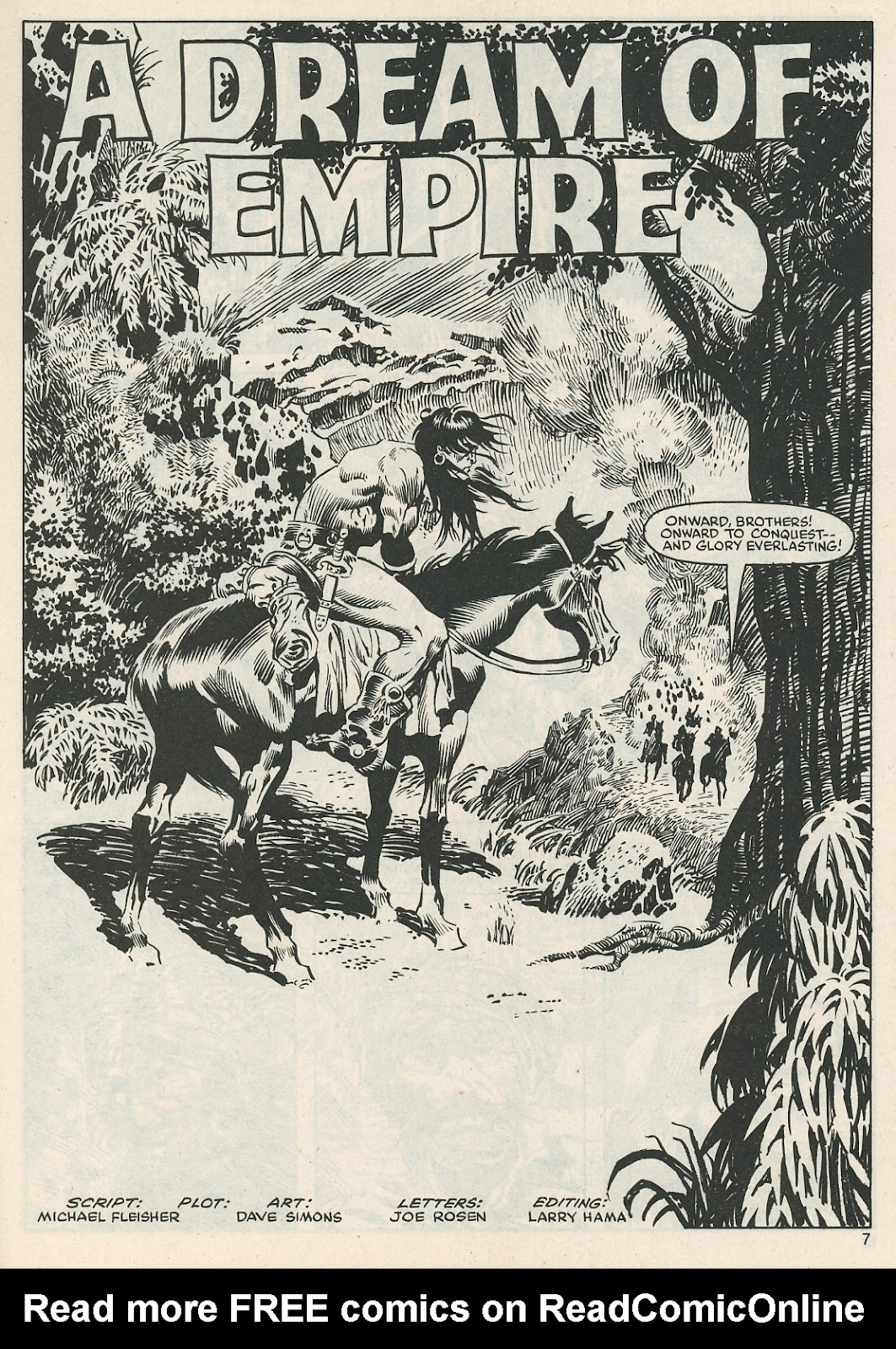 The Savage Sword Of Conan Issue #112 #113 - English 7