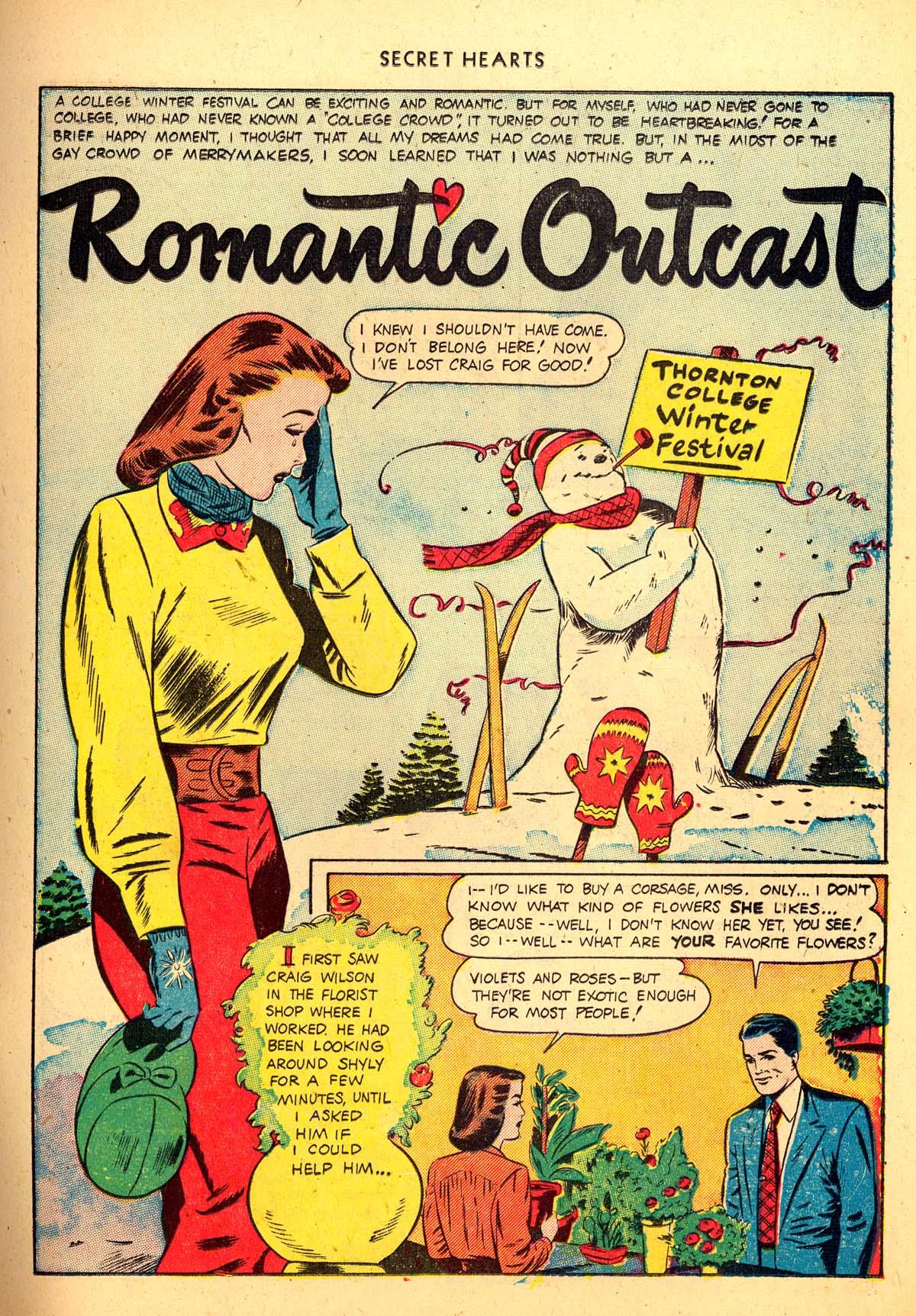Read online Secret Hearts comic -  Issue #4 - 21