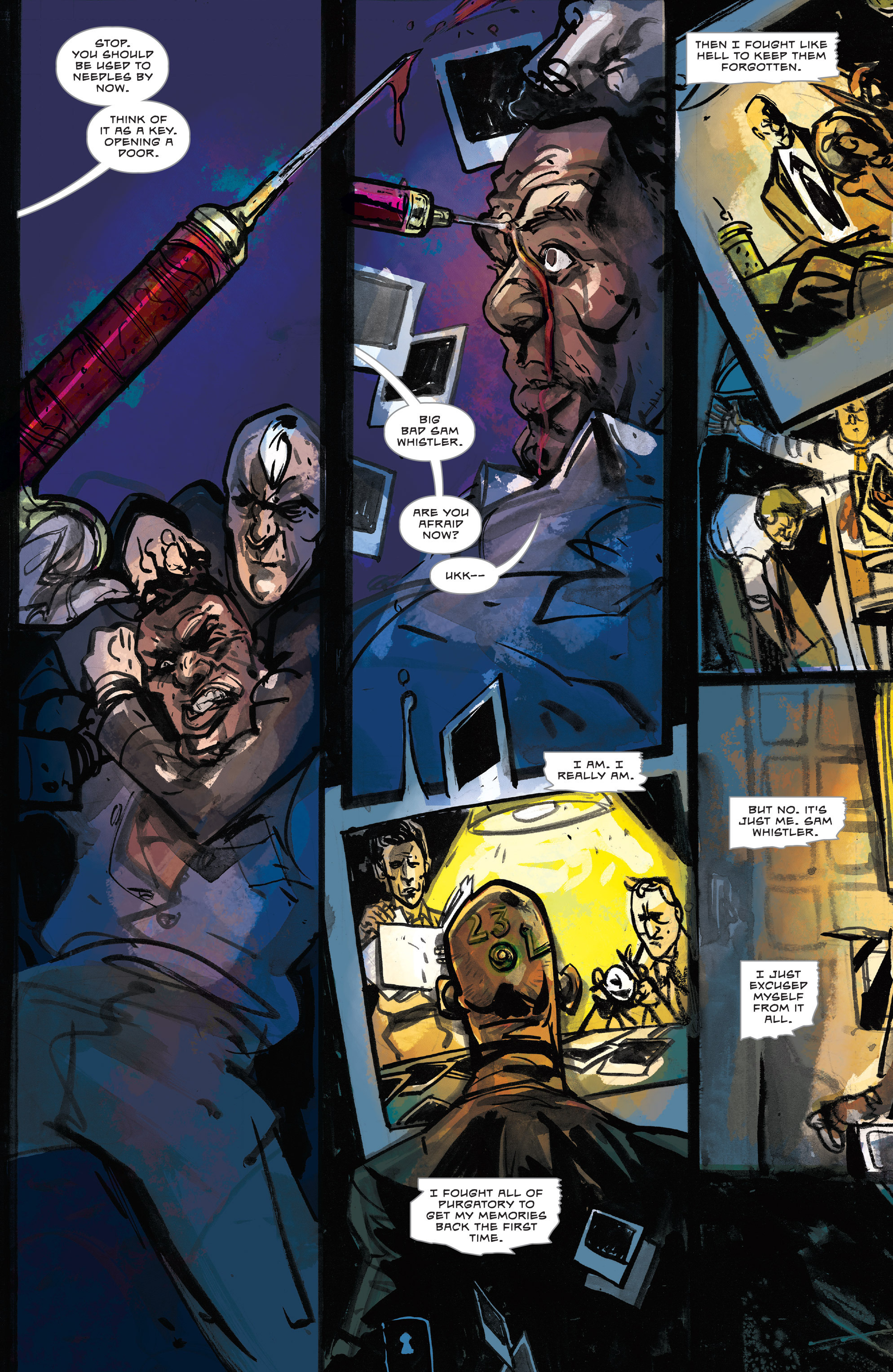 Read online Dead Letters comic -  Issue #11 - 22