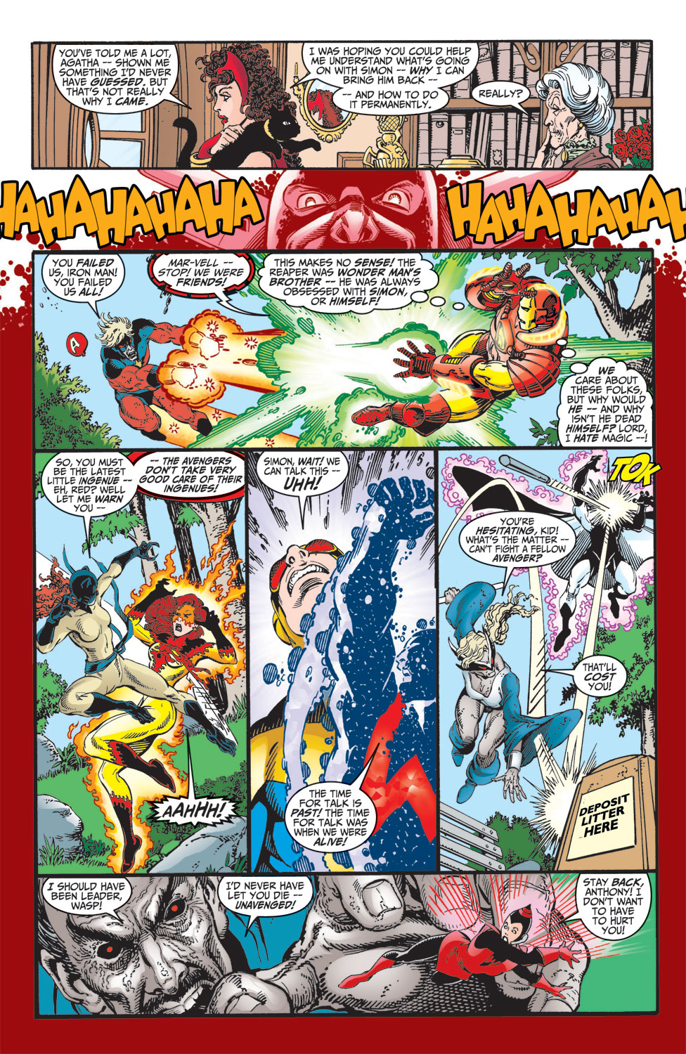 Read online Avengers (1998) comic -  Issue #10 - 18