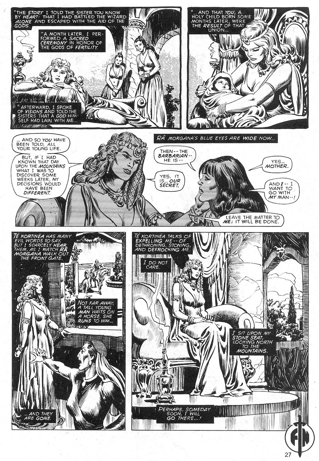 The Savage Sword Of Conan Issue #29 #30 - English 27