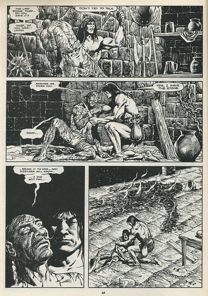 The Savage Sword Of Conan Issue #174 #175 - English 56