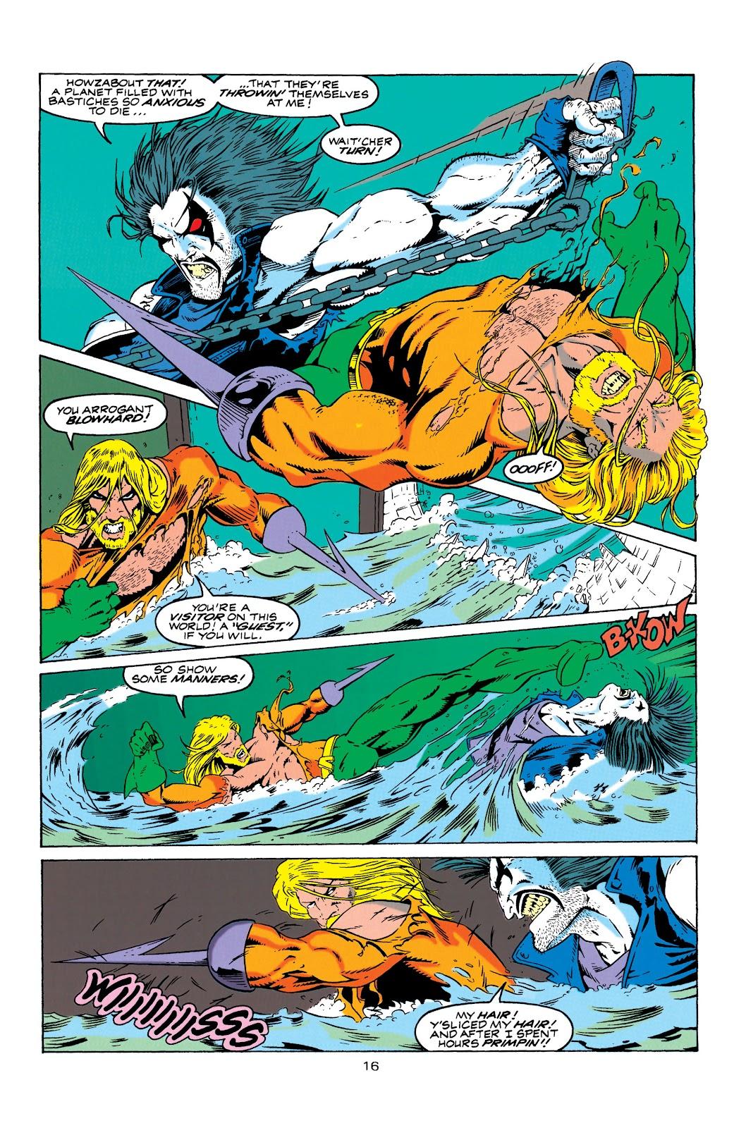 Aquaman (1994) Issue #4 #10 - English 17