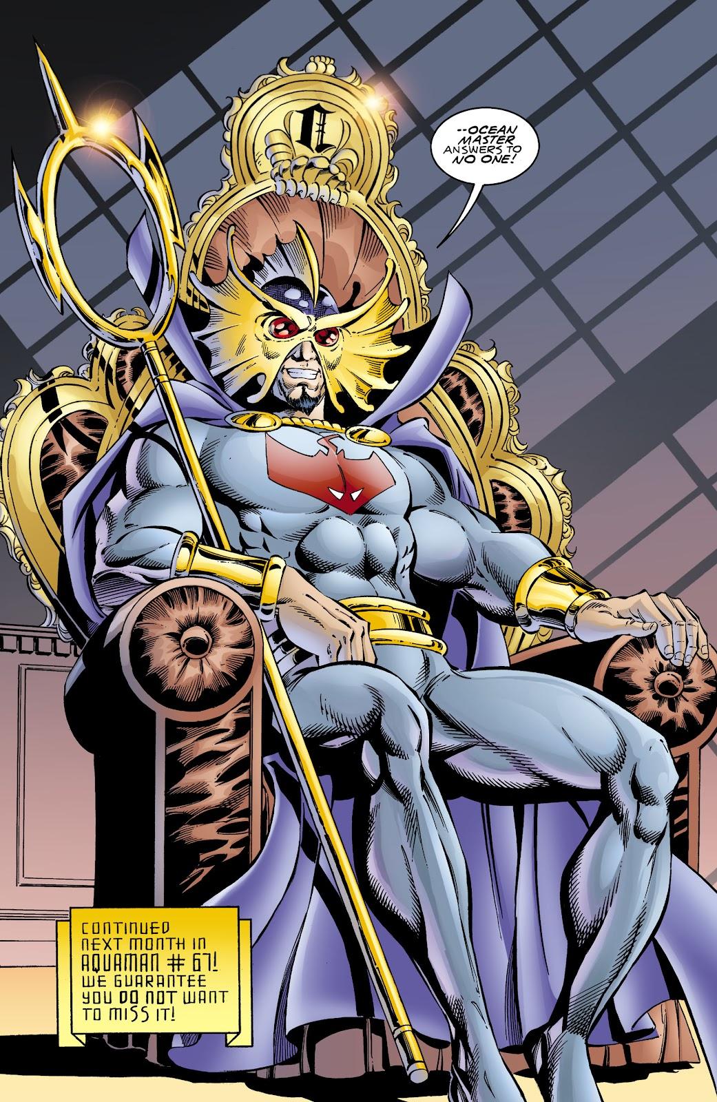 Aquaman (1994) Issue #66 #72 - English 22