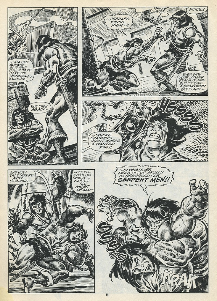 The Savage Sword Of Conan Issue #193 #194 - English 7