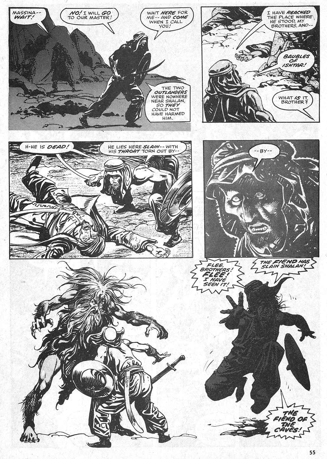 The Savage Sword Of Conan Issue #28 #29 - English 55
