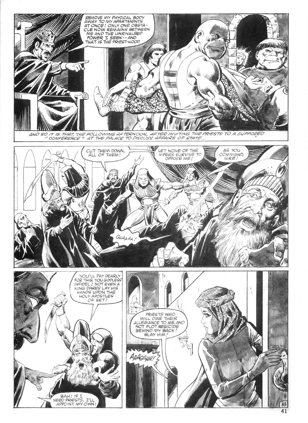 The Savage Sword Of Conan Issue #94 #95 - English 40