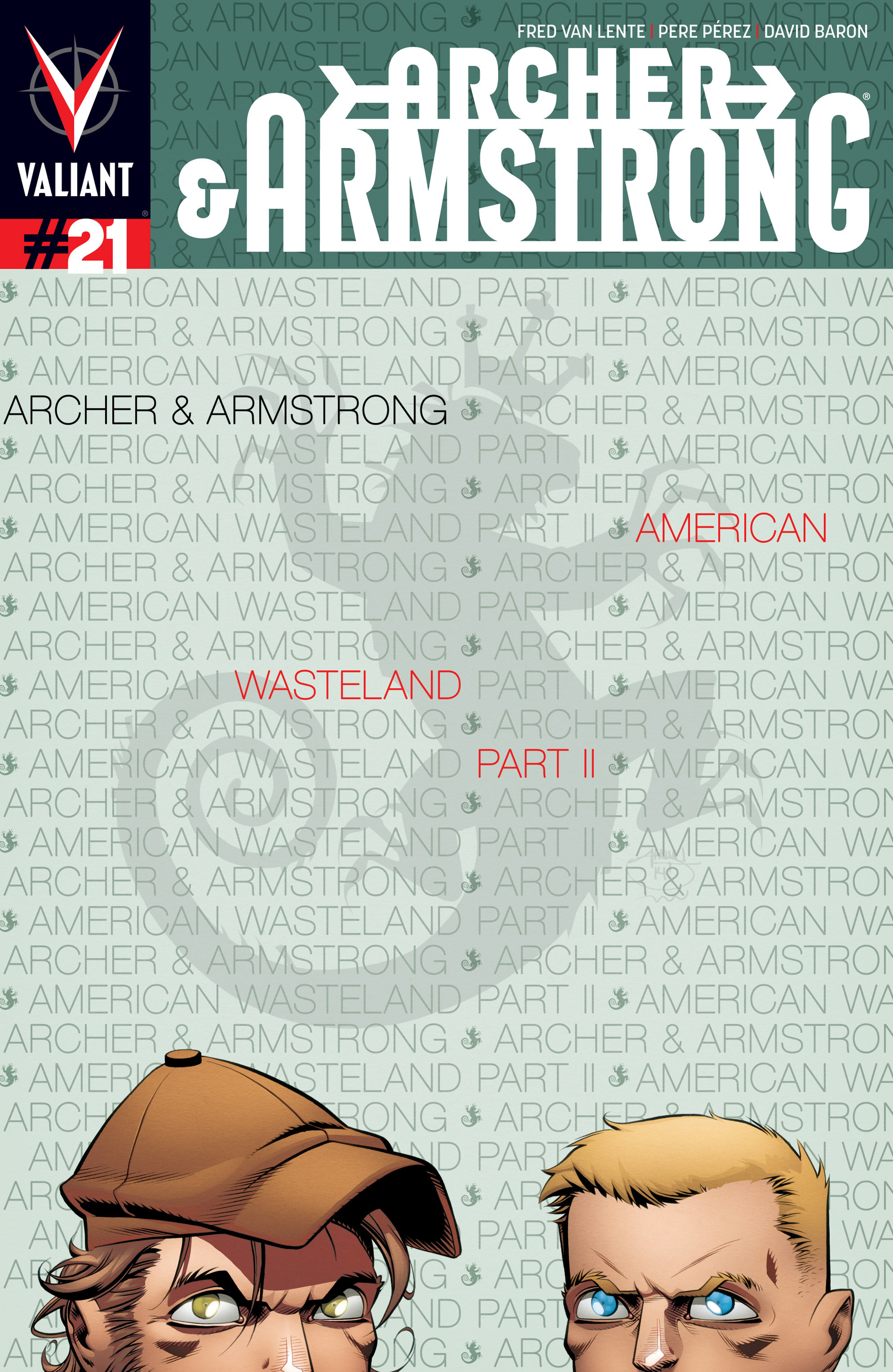 Archer and Armstrong 21 Page 1