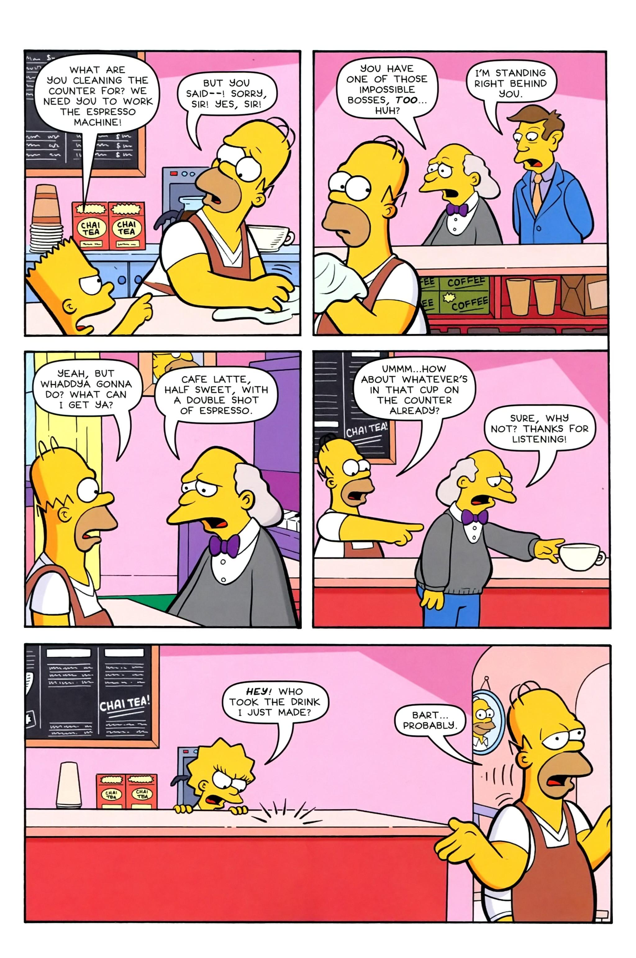 Read online Simpsons Comics comic -  Issue #239 - 8