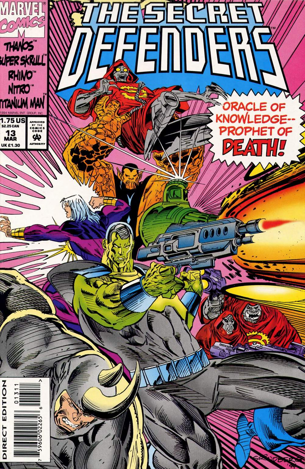 Read online Secret Defenders comic -  Issue #13 - 1