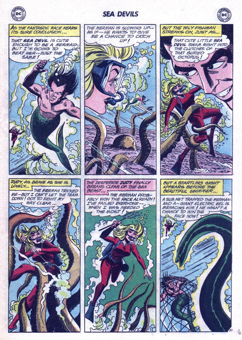 Read online Sea Devils comic -  Issue #14 - 29