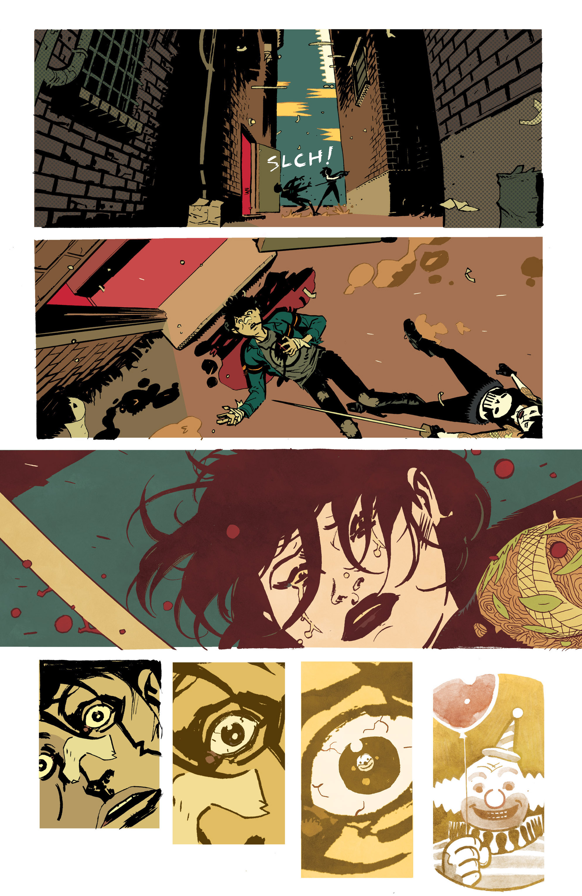 Read online Deadly Class comic -  Issue #21 - 29